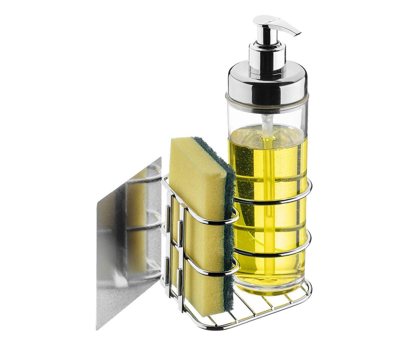 Organizador Magnético para Pia em Inox Sav - 10,5X22X10,5cm | Westwing.com.br