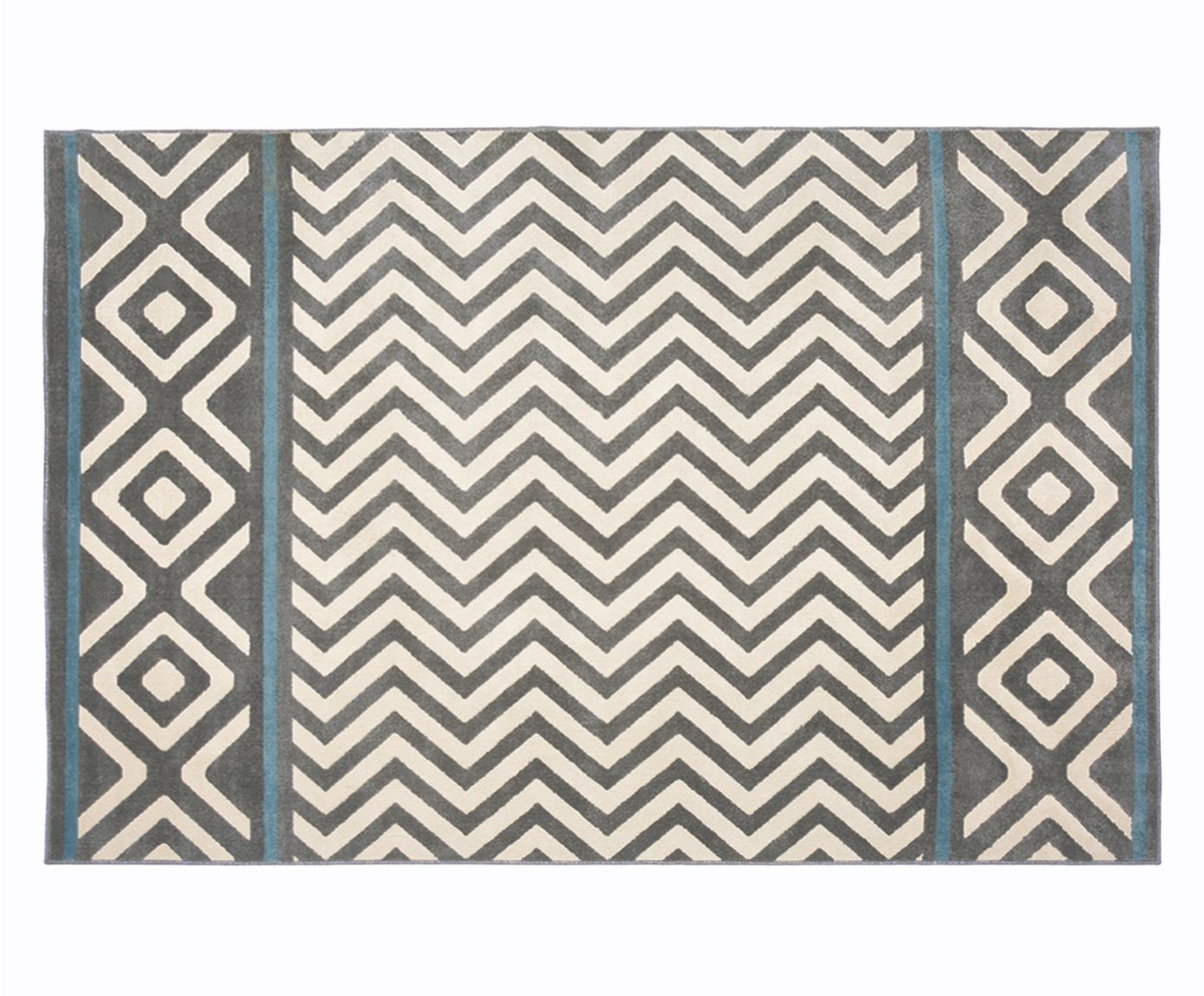 Tapete Trendy Ethnic Carbon - 150X200cm | Westwing.com.br