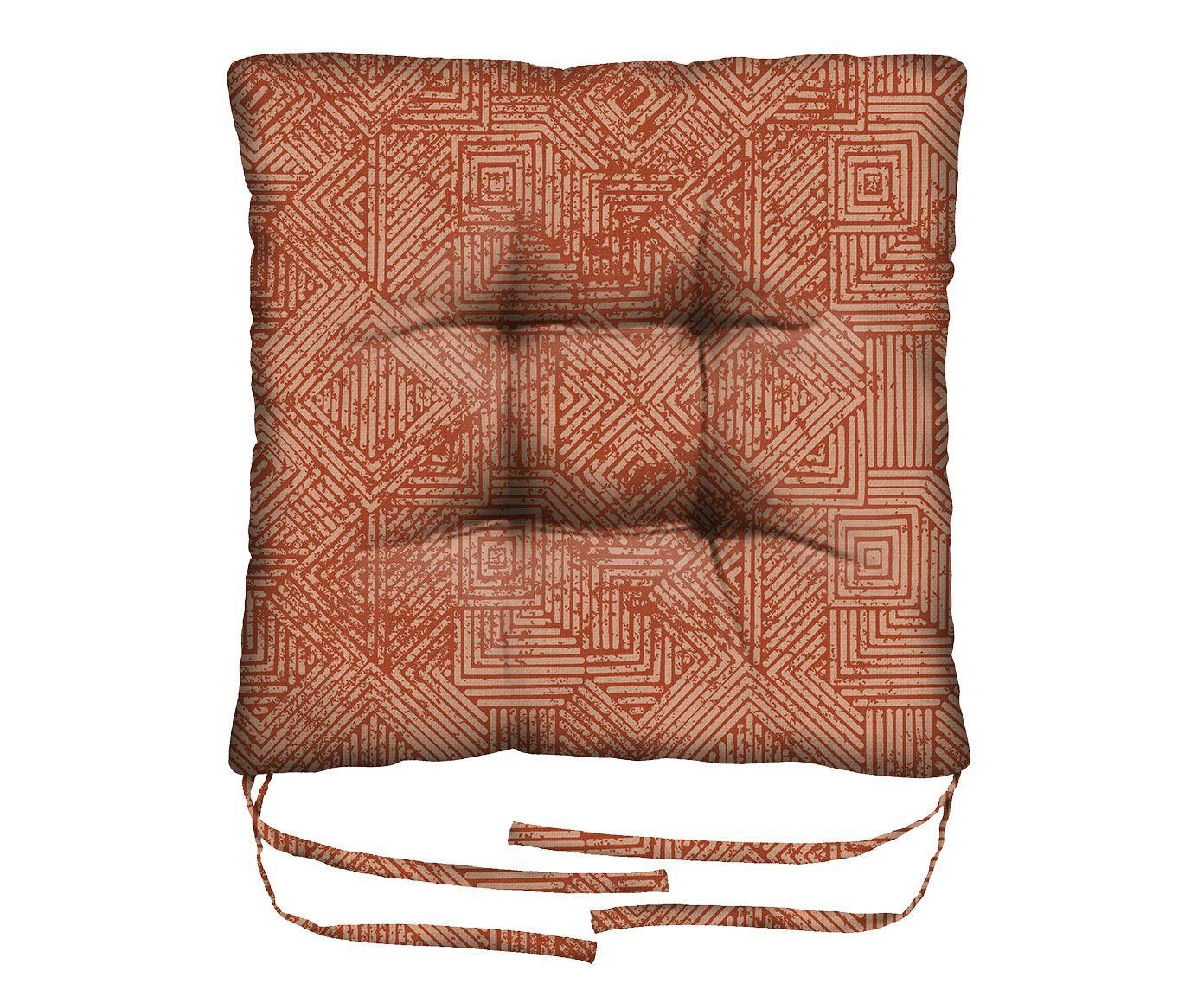 Assento de Cadeira em Linho Misto Sagittarius - 45X45cm | Westwing.com.br