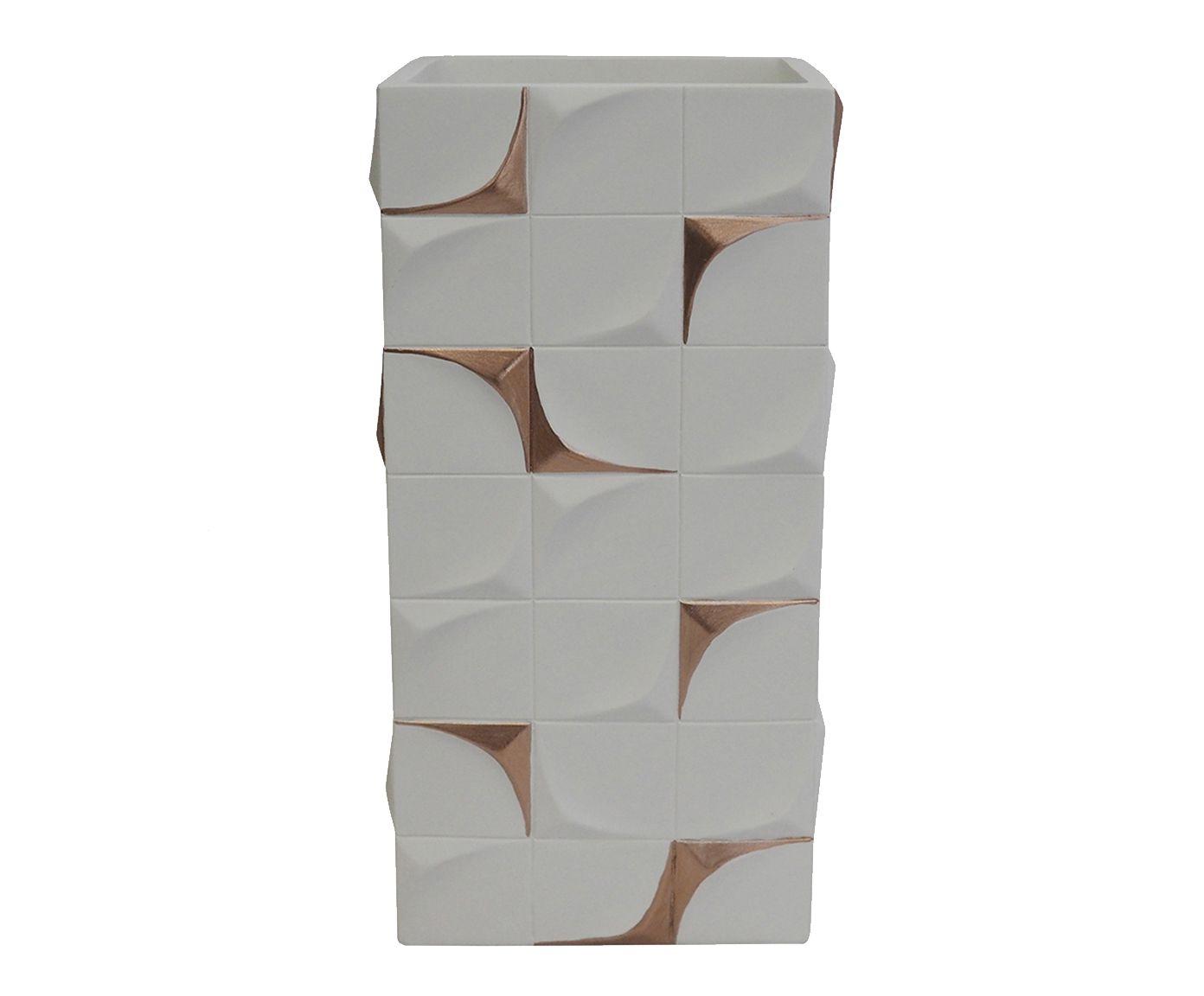 Vaso Edik Branco - 12,5X29X8,5cm | Westwing.com.br