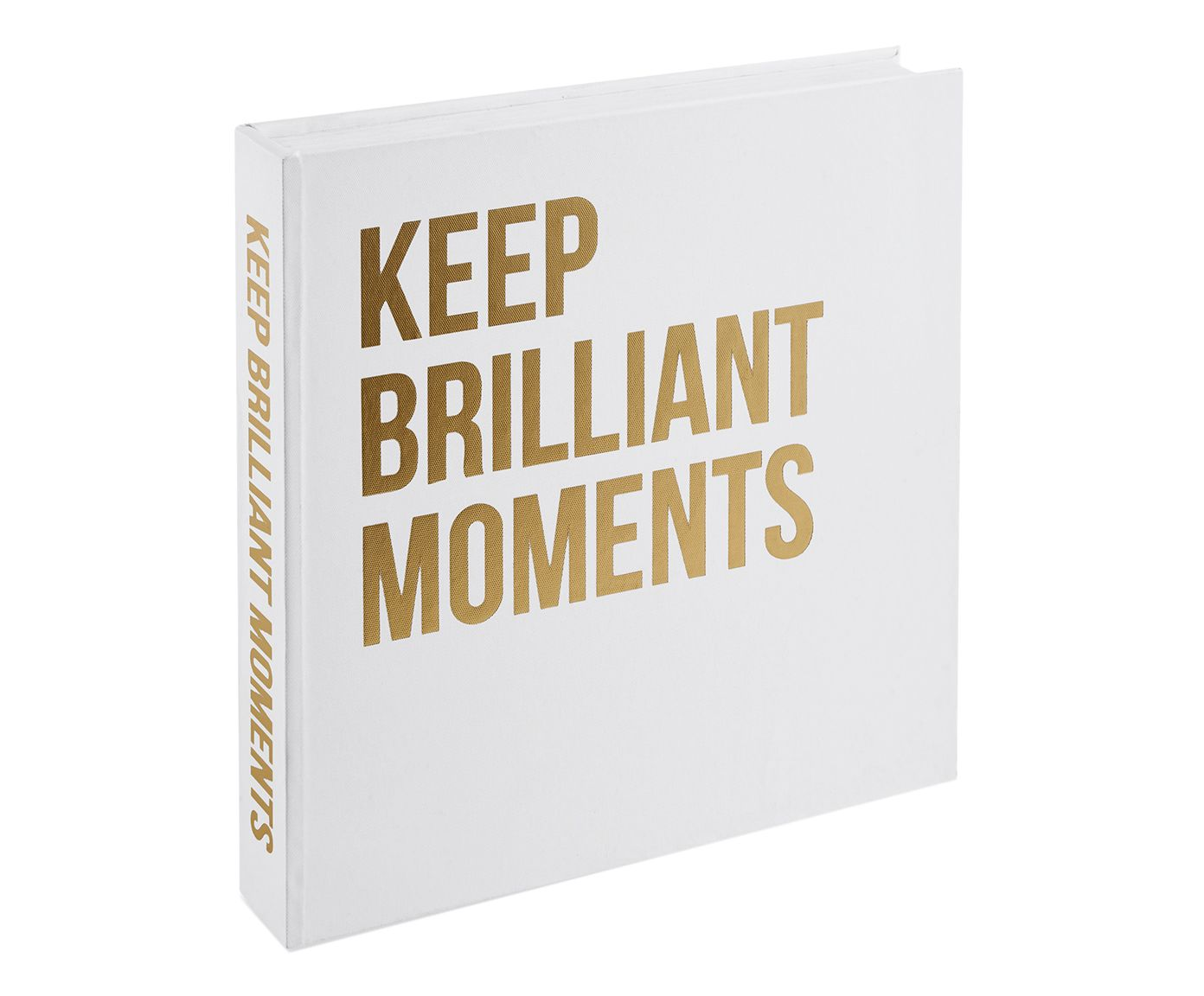 Book Box Keep Brilliant Moments - 30cm | Westwing.com.br