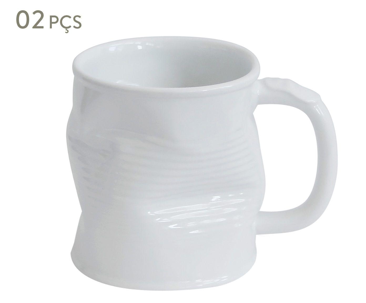 Conjunto de Canecas Smashed Union - 320 ml   Westwing.com.br