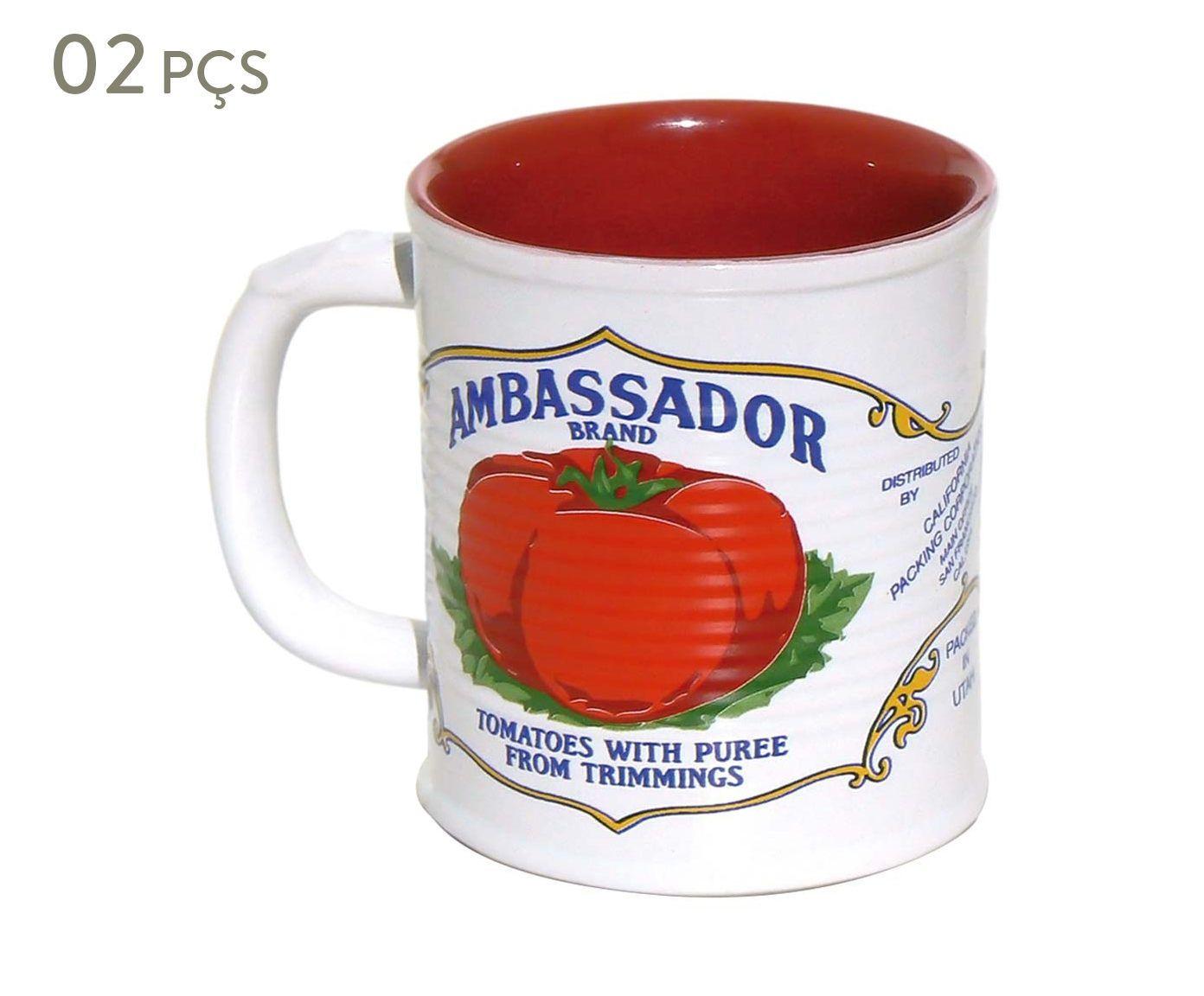 Conjunto de Canecas Espalier ambassador - 350 ml | Westwing.com.br