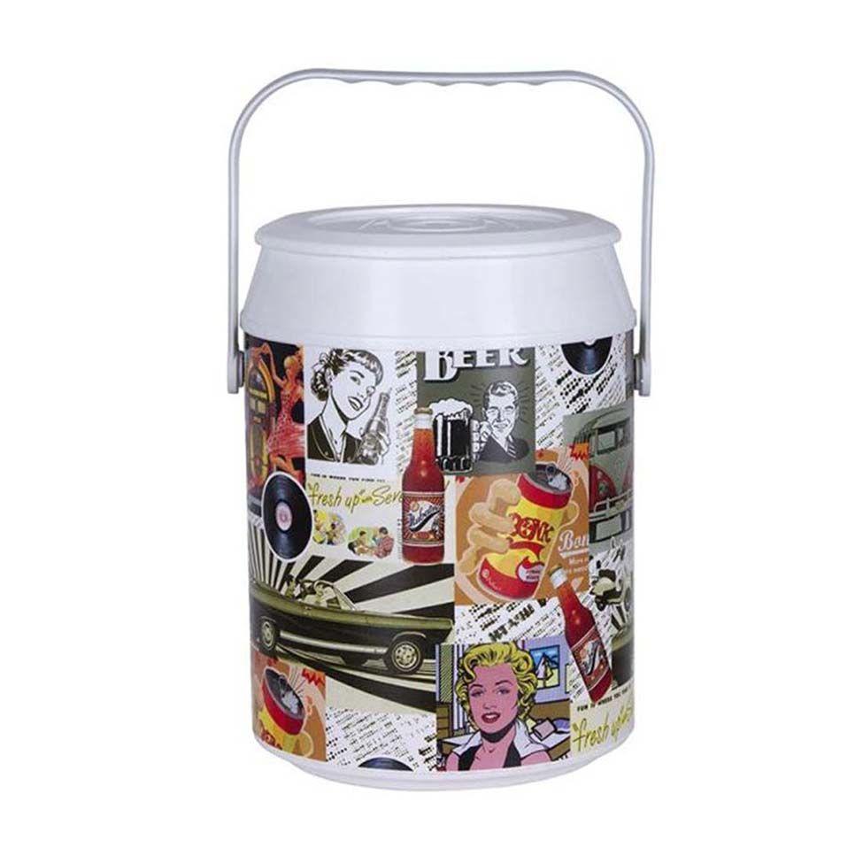 Cooler retrô color - para 08 latas | Westwing.com.br