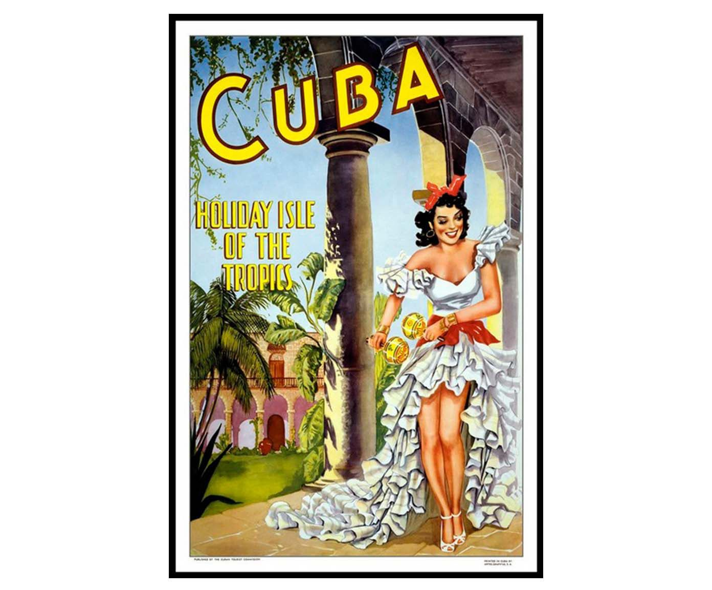 Gravura cuba holiday isle | Westwing.com.br