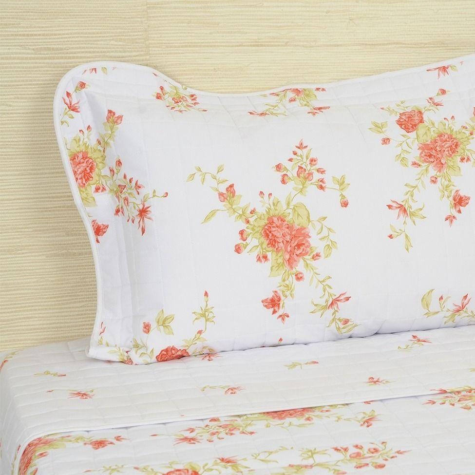 Conjunto de cobre-leito garden para cama super king size | Westwing.com.br