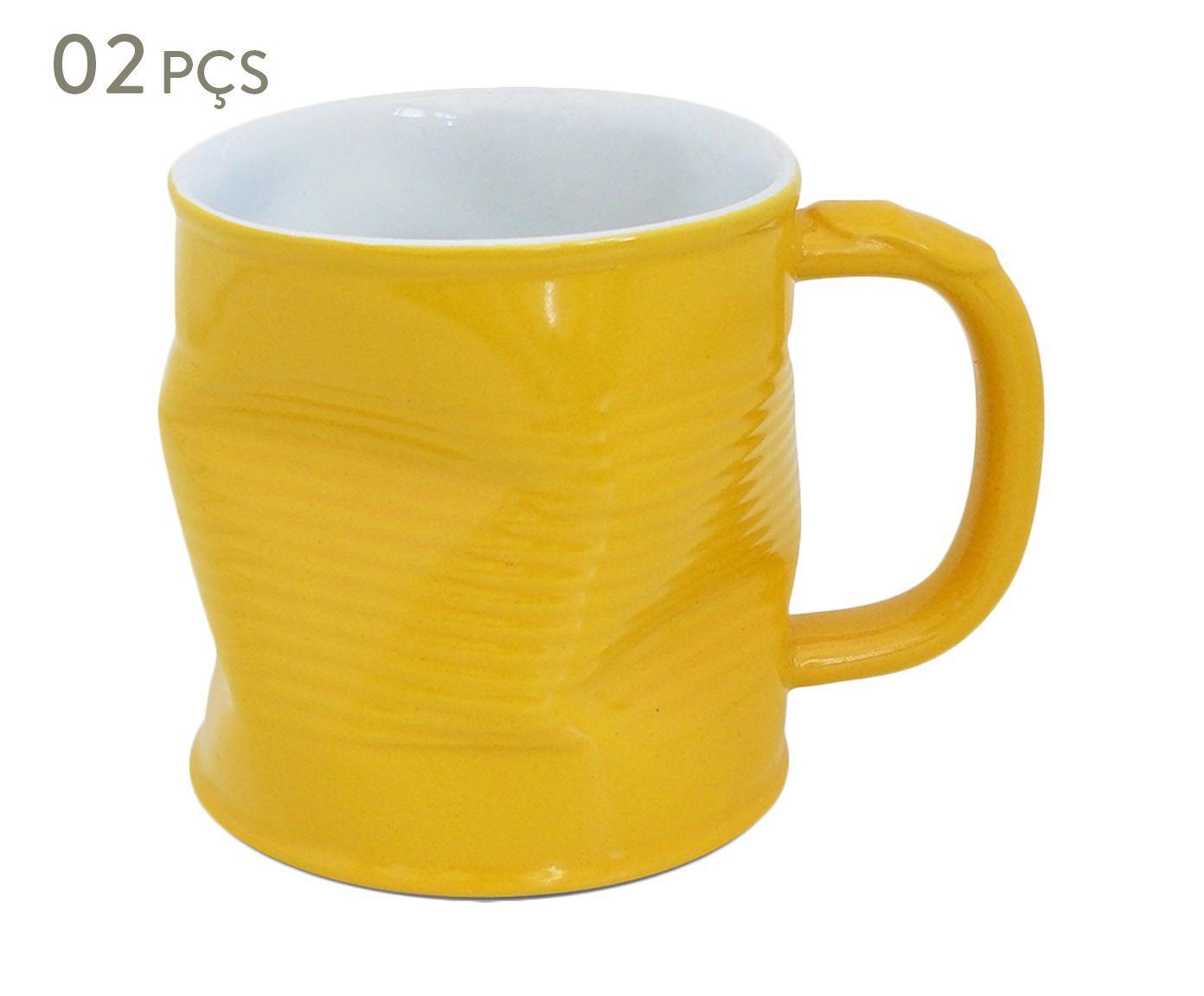 Conjunto de Canecas Smashed Soleil - 220 ml | Westwing.com.br