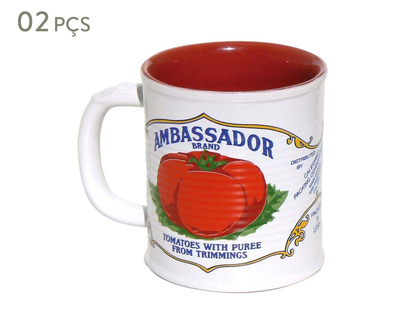 Conjunto de Canecas Espalier ambassador - 250 ml | Westwing.com.br