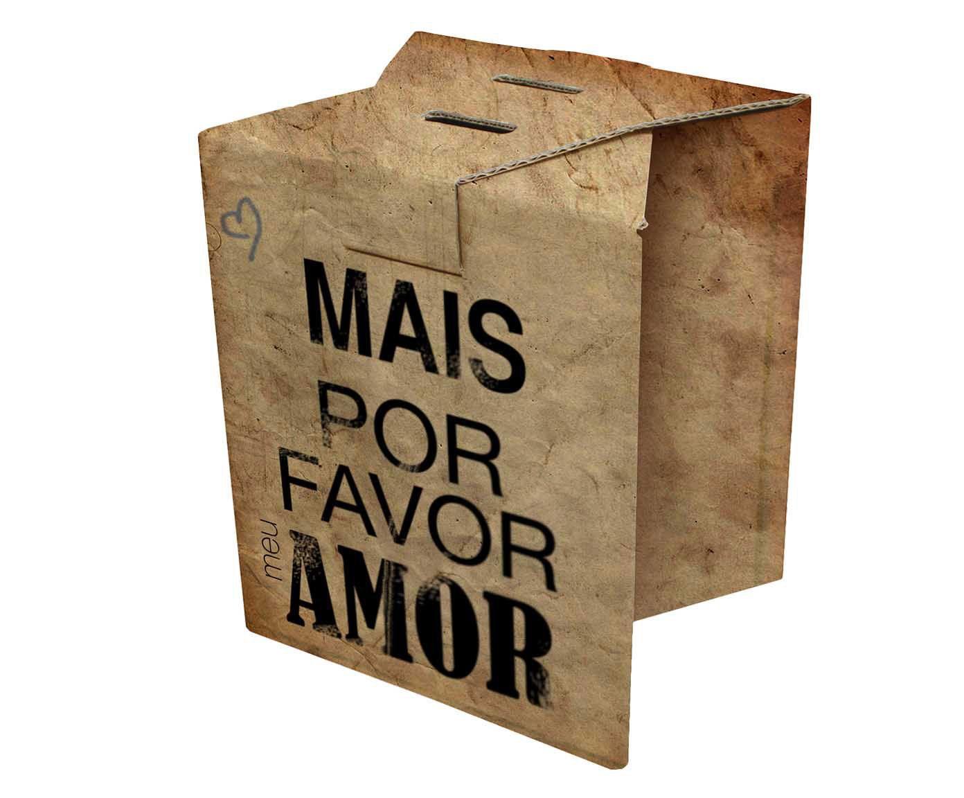 Banco rube mais amor | Westwing.com.br