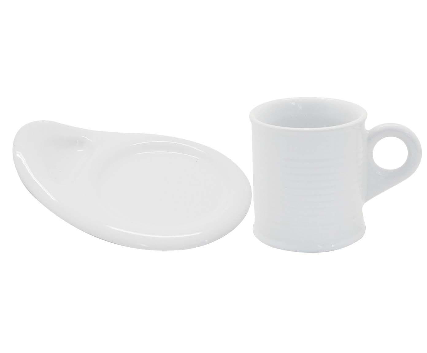 Conjunto de Xícaras para Café com Pires Espalier - Union 70 ml | Westwing.com.br