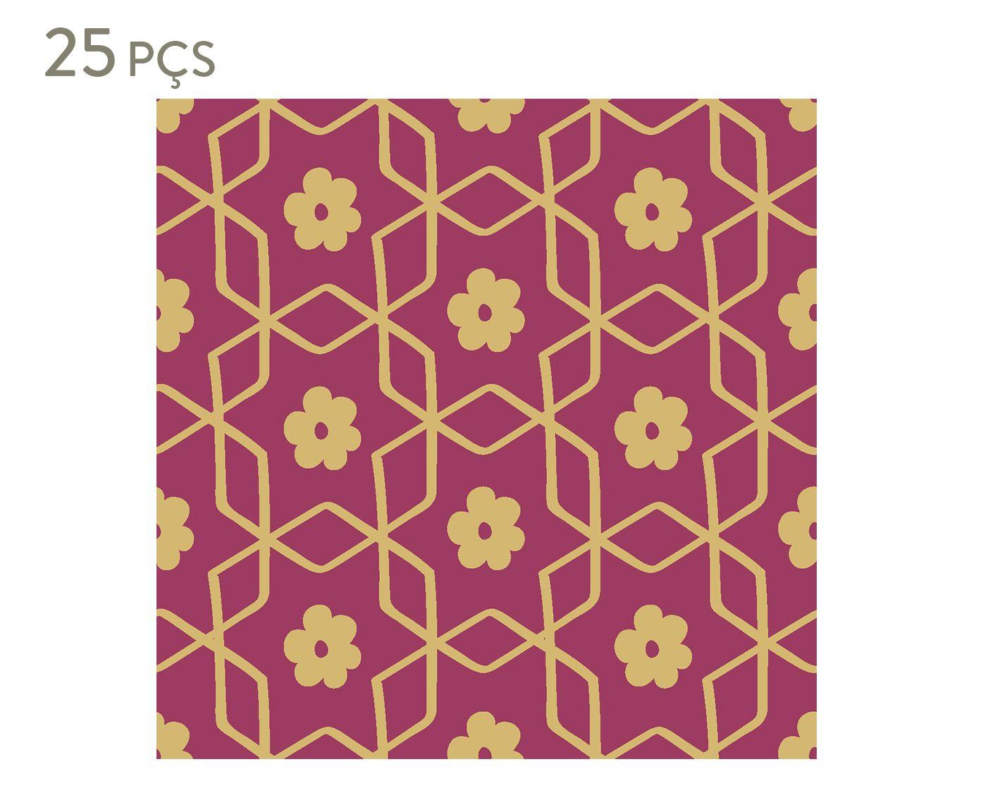 Conjunto de ladrilhos adesivos ermean - 20 cm | Westwing.com.br