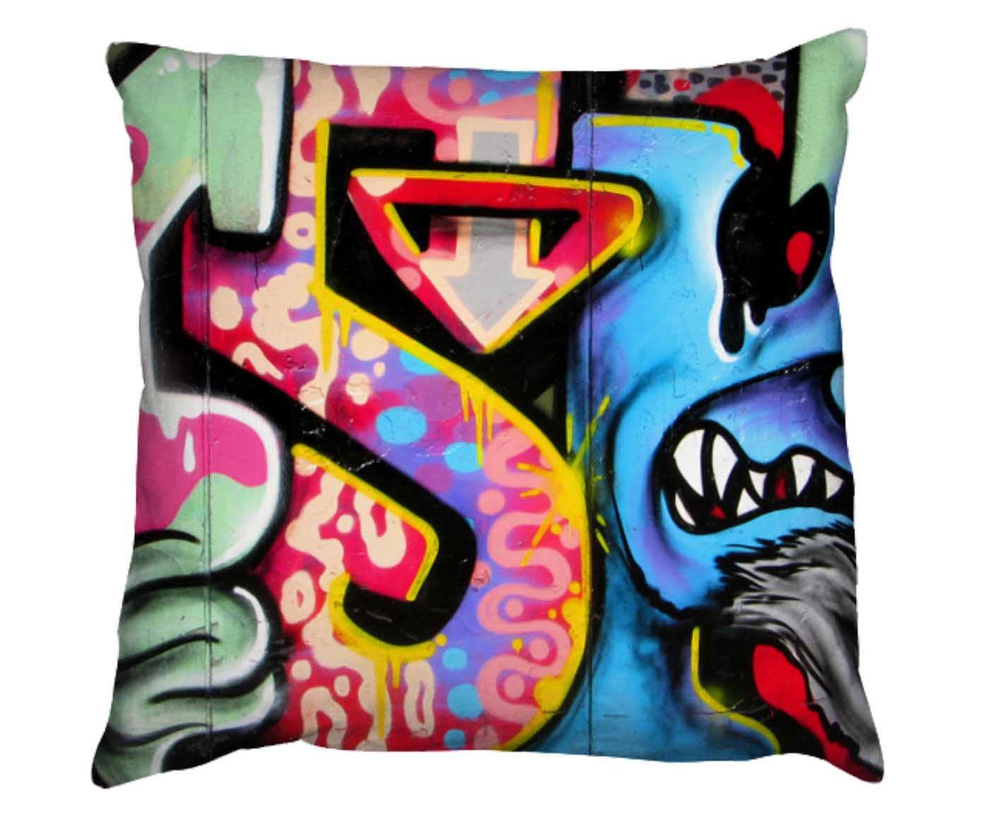 Capa para almofada grafitti urban | Westwing.com.br