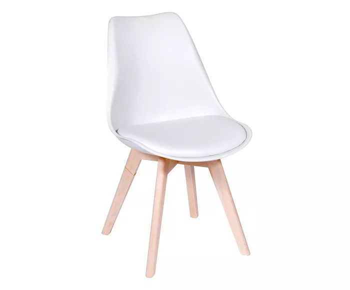 Cadeira Modesti Branca - 43X83X49cm   Westwing.com.br