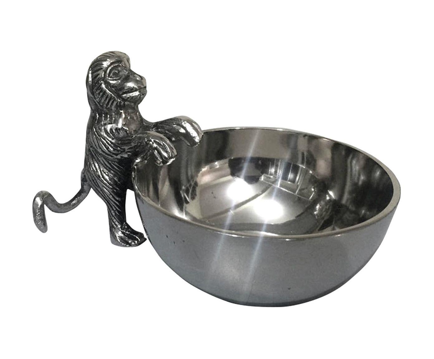 Petisqueira Macaco Tito - 16X8,5X10,5cm | Westwing.com.br