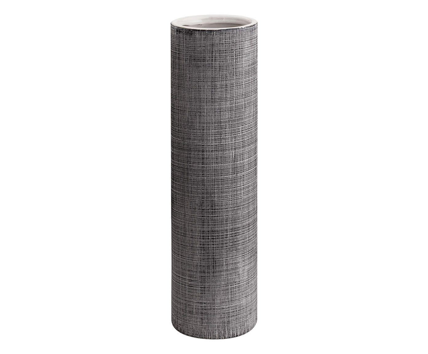 Vaso Distar Cinza - 10X35,5X10cm | Westwing.com.br