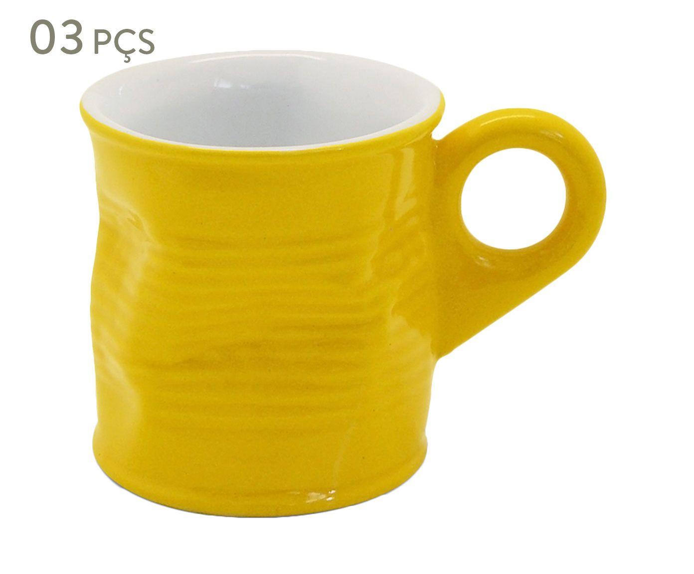 Conjunto de Xícaras para café Smashed - soleil 70 ml | Westwing.com.br