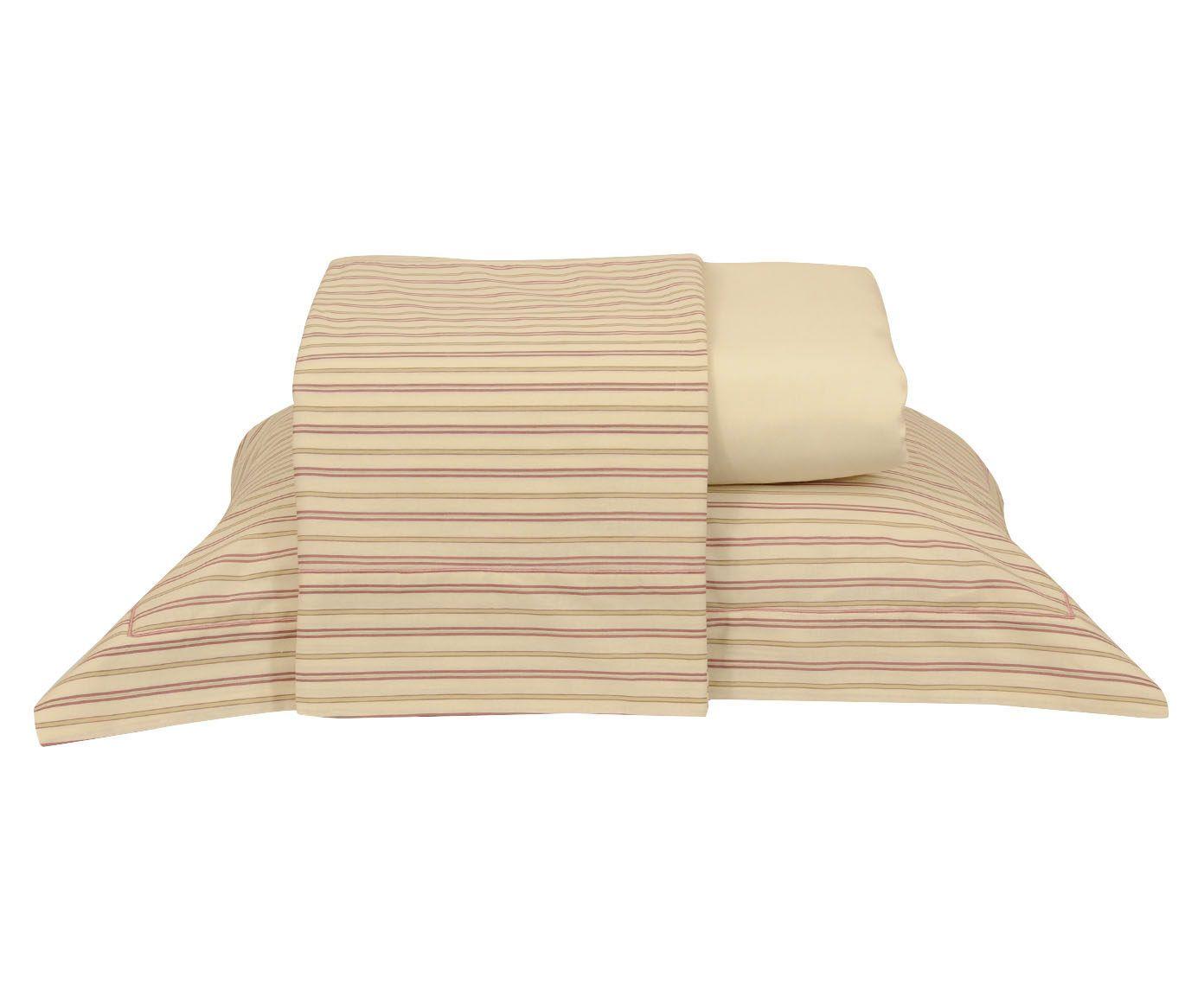 Jogo de lençol flower para cama de solteiro 150 fios   Westwing.com.br