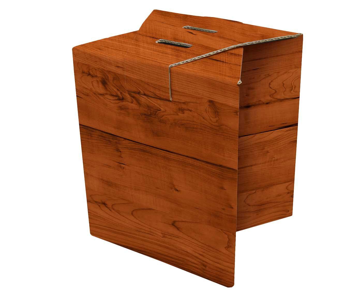 Banco rube wood   Westwing.com.br