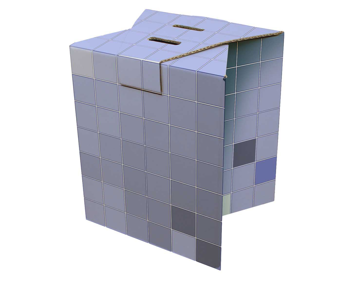 Banco rube cube - space | Westwing.com.br