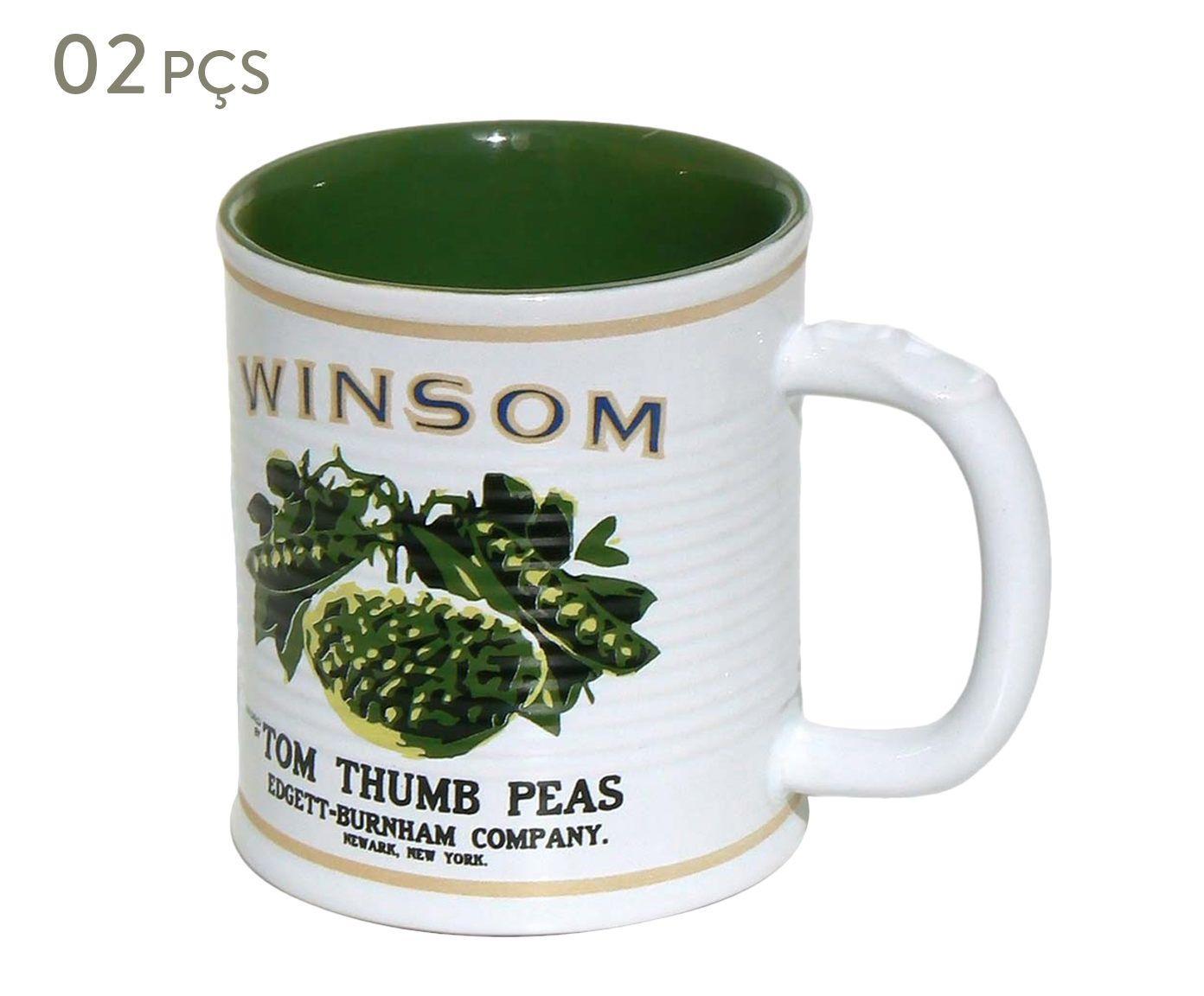 Conjunto de Canecas Espalier winsom - 250 ml   Westwing.com.br