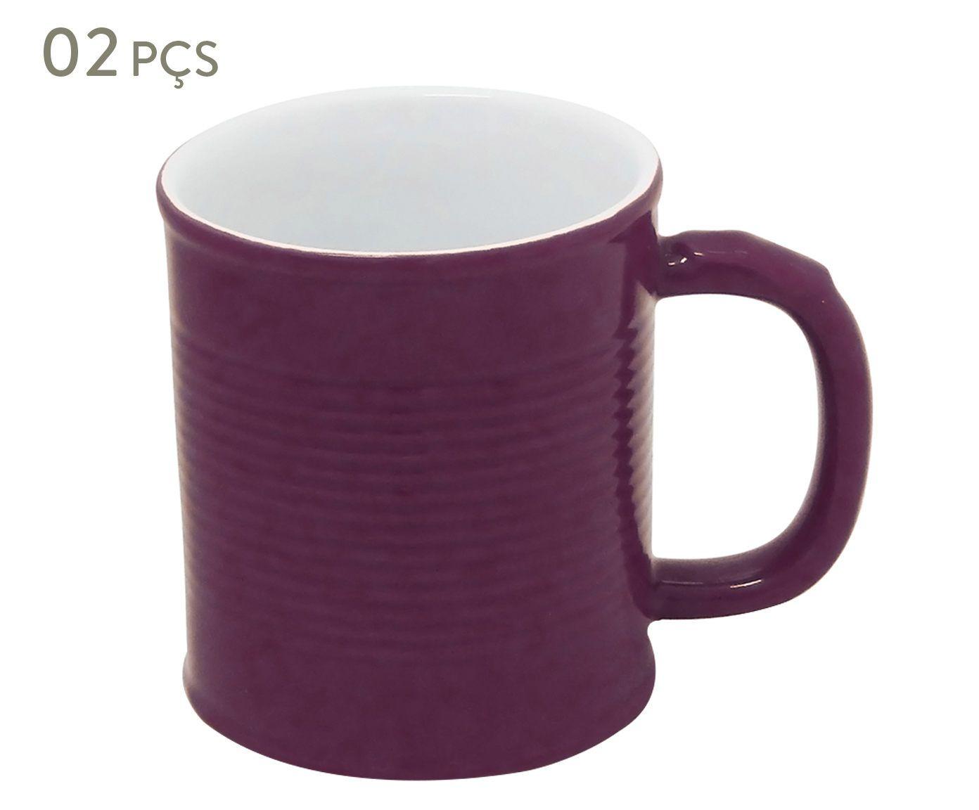 Conjunto de Canecas Espalier effect - 350 ml   Westwing.com.br