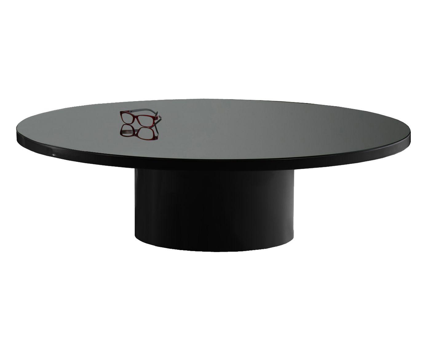 Mesa de Centro Mastro Preta - 33cm | Westwing.com.br