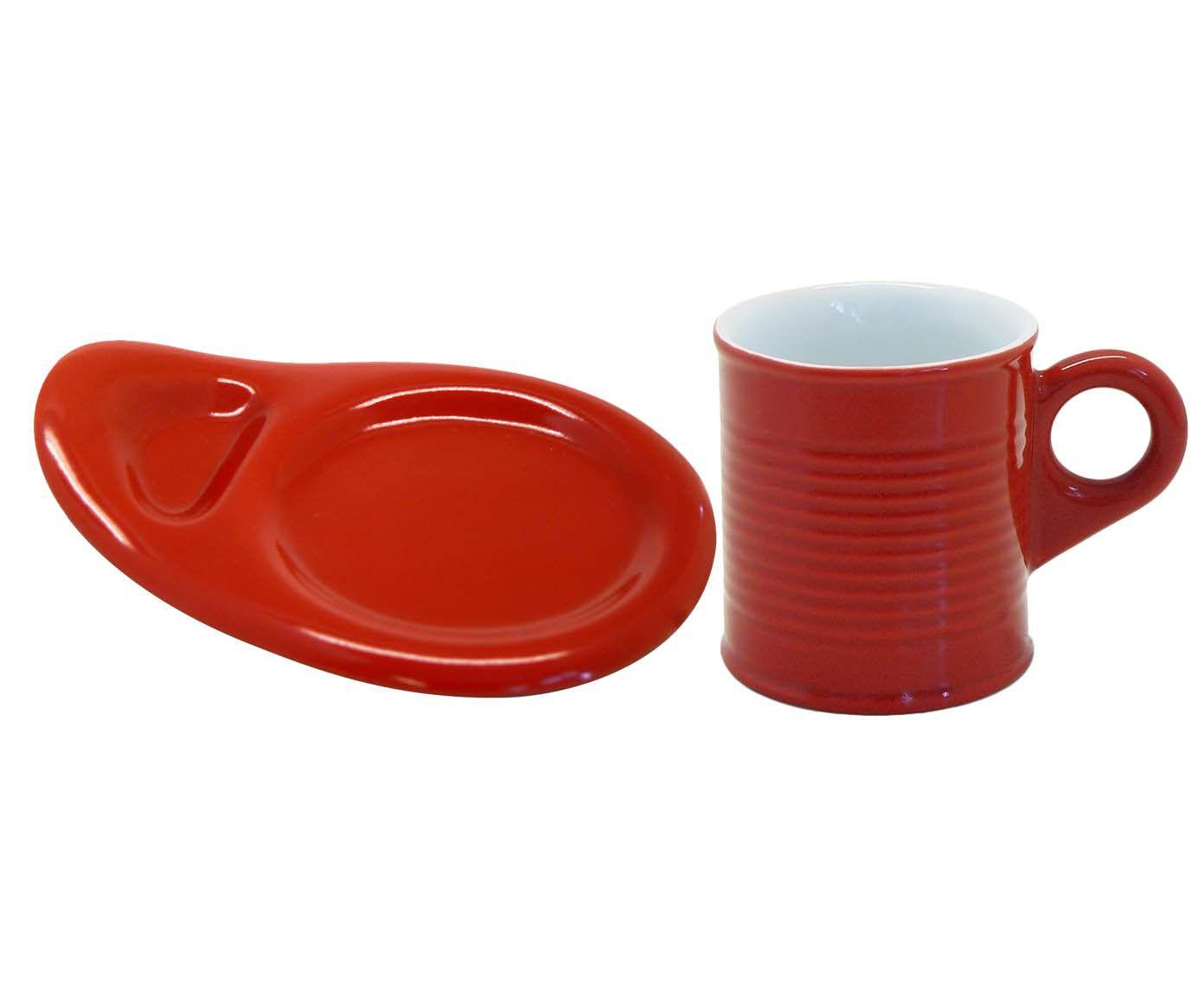 Conjunto de Xícaras para Café com pires Espalier - Rouge | Westwing.com.br