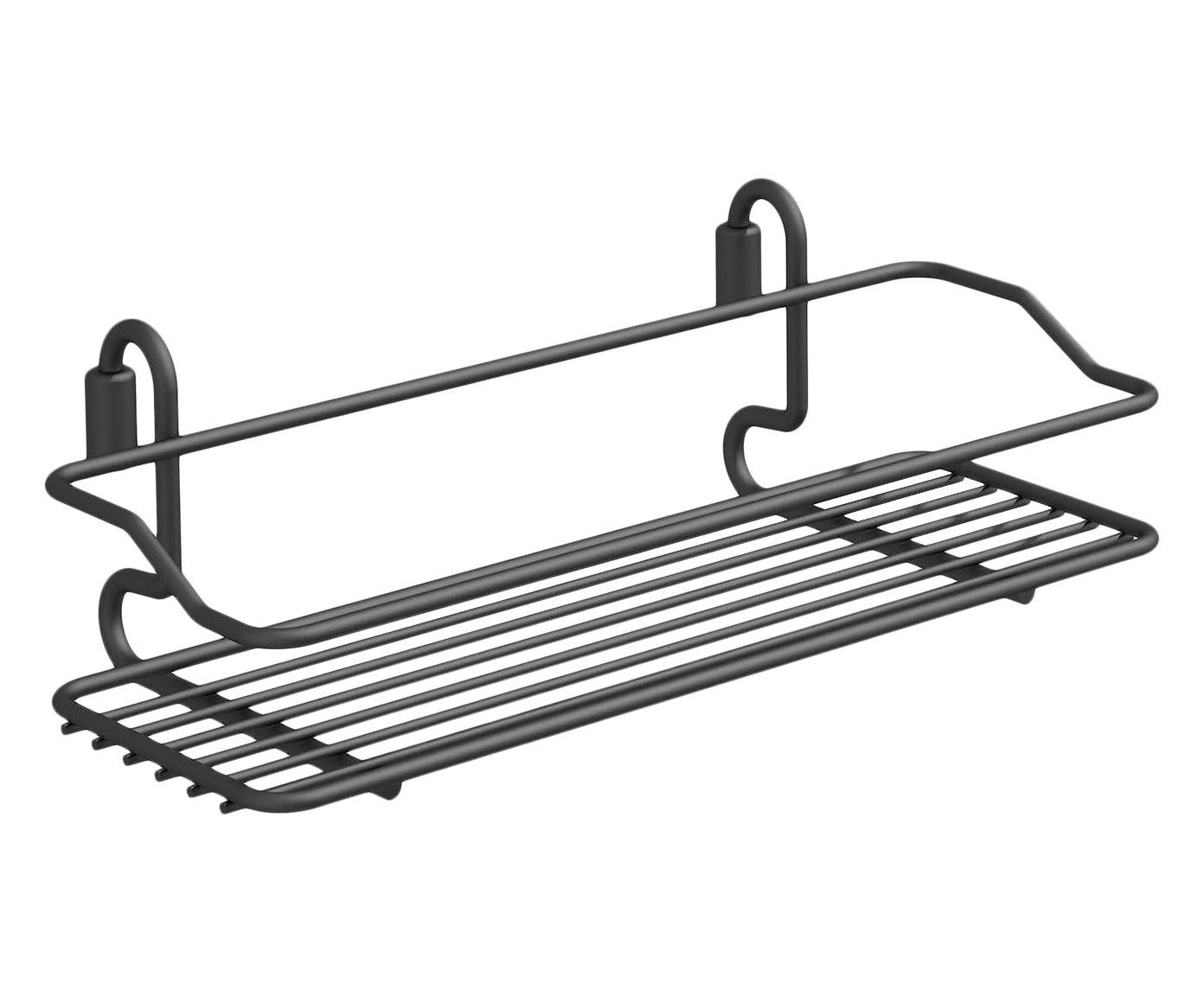 Porta-Condimentos Simple Flutuare Preto - 31X16X12cm | Westwing.com.br