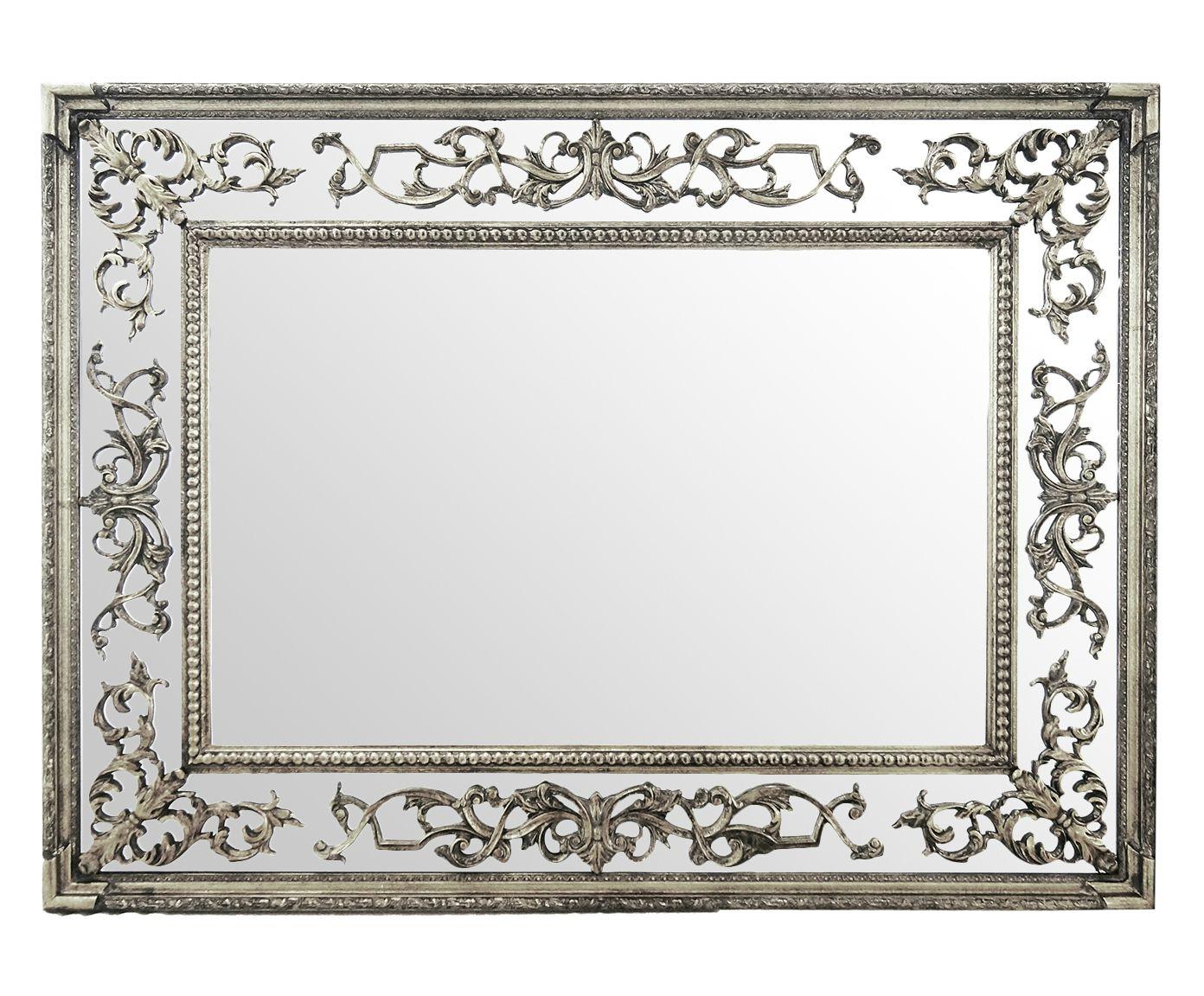 Espelho Lusien Prateado - 120X89cm | Westwing.com.br