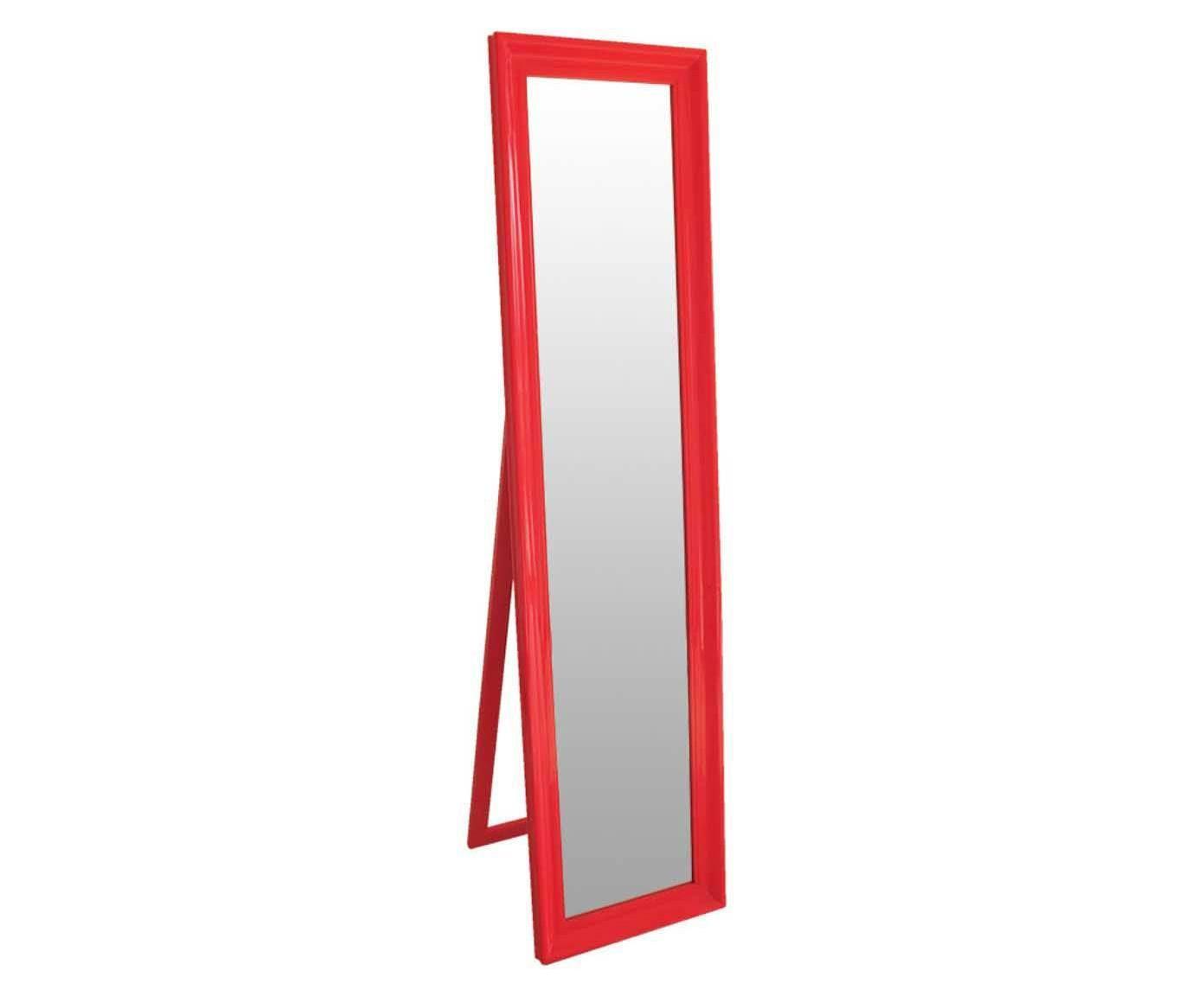 Espelho de Piso Classic Frame Laranja - 40,5x160cm | Westwing.com.br