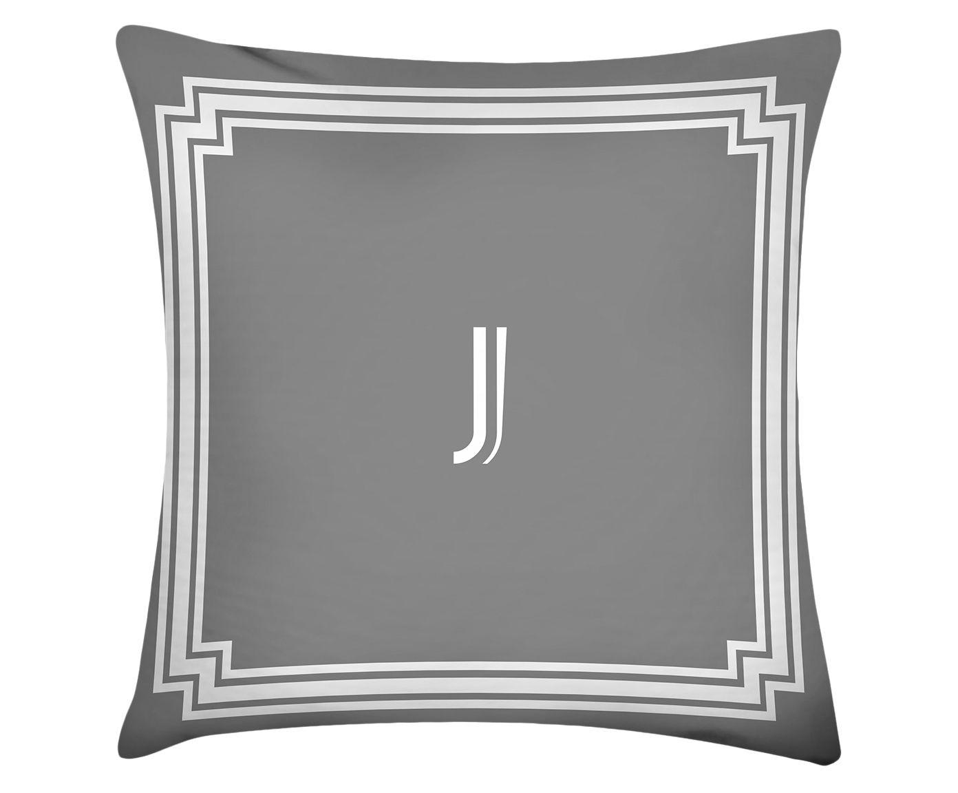 Almofada Letter J - 45x45cm | Westwing.com.br