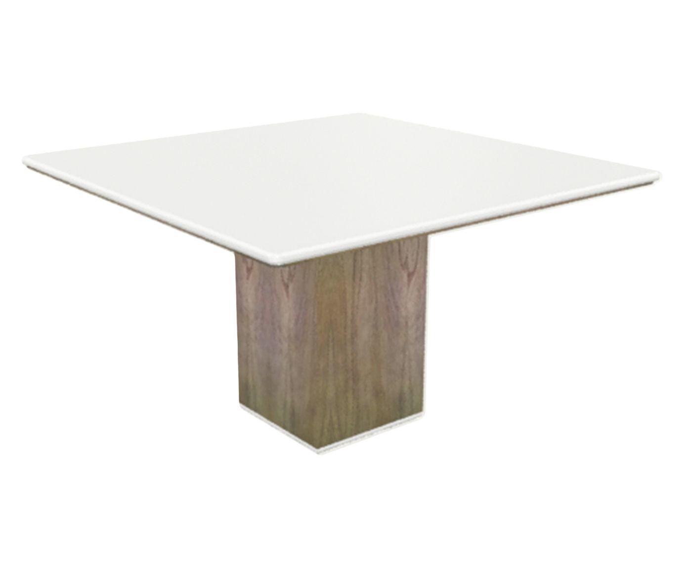 Mesa de Jantar Cananeia Branca - 100x100cm | Westwing.com.br
