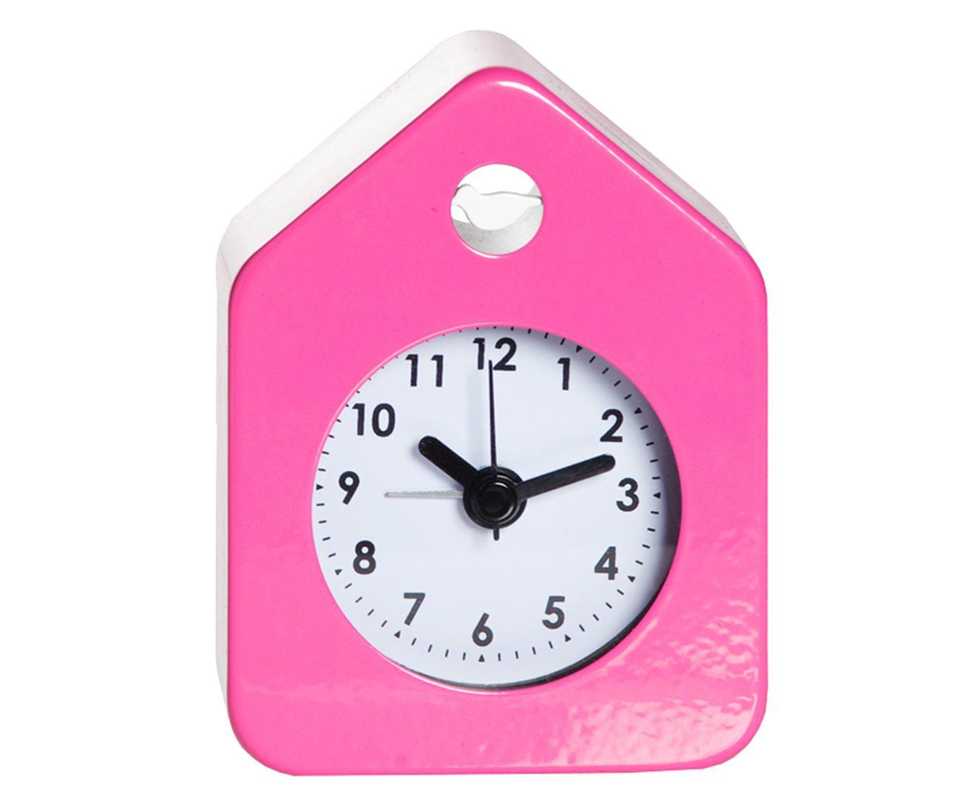 Relógio Despertador House Style - Rosa   Westwing.com.br