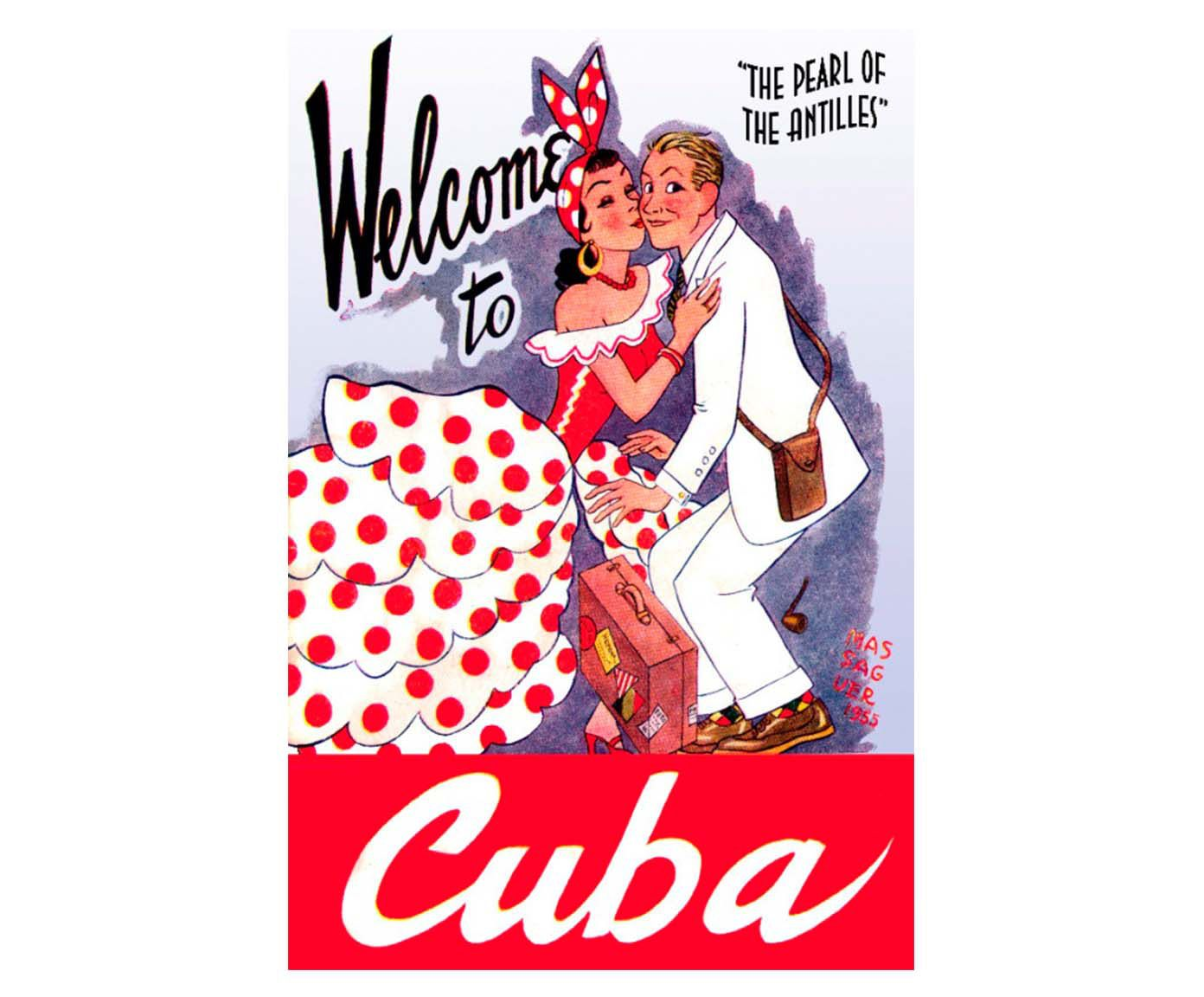 Gravura welcome to cuba | Westwing.com.br