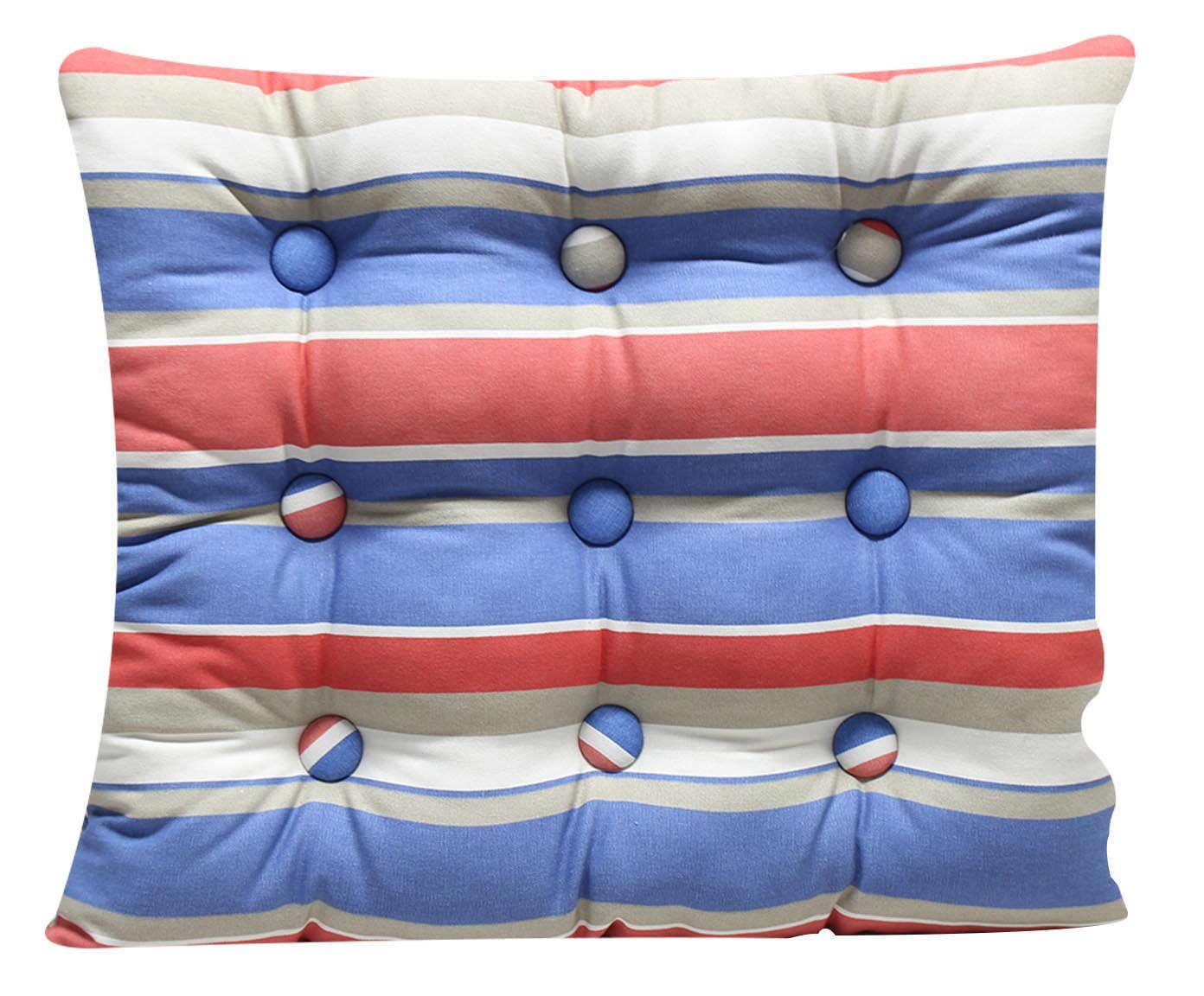Almofada Zabuton Stripes Vinge - 40x50cm | Westwing.com.br
