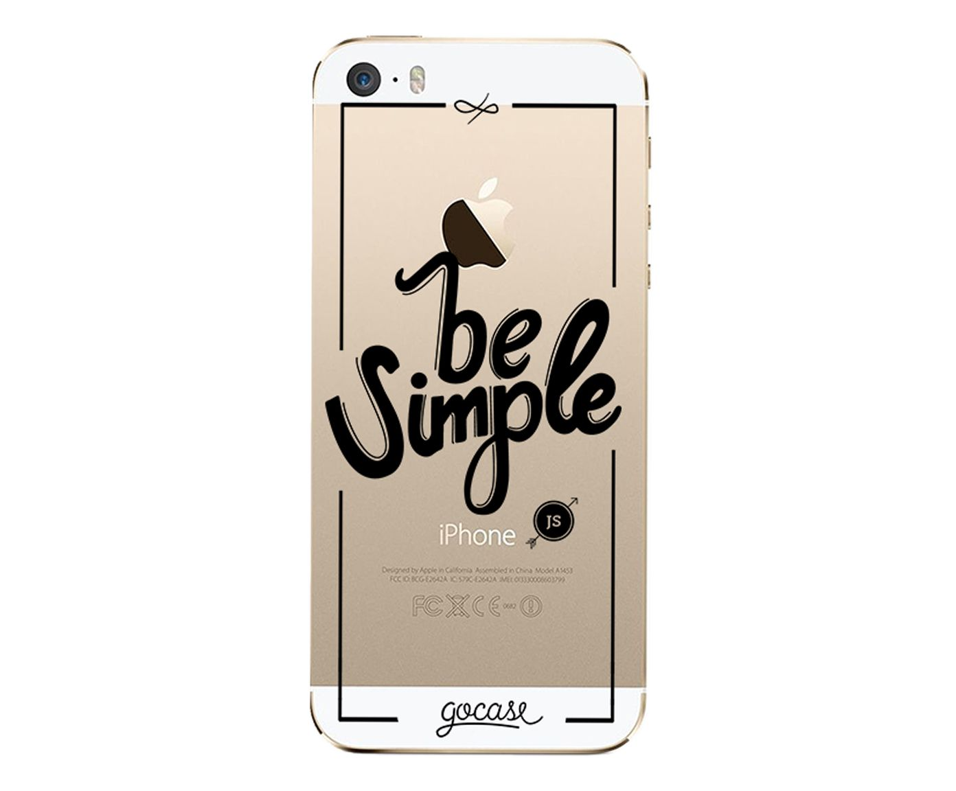 Case Be Simple - Para iPhone 5C | Westwing.com.br