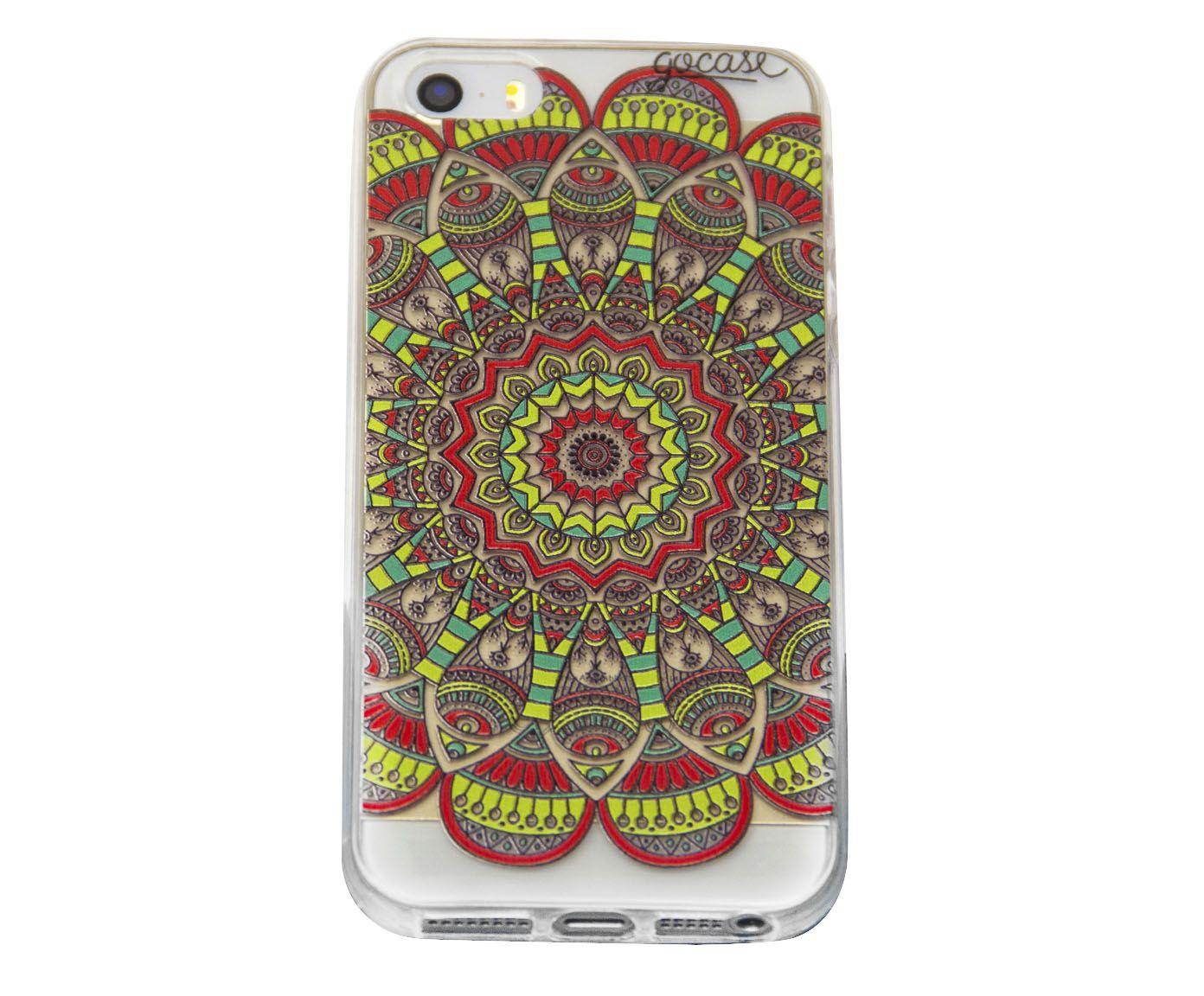 Case Orange Mandala - Para iPhone 4/4S | Westwing.com.br