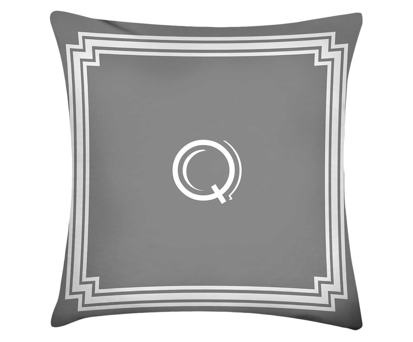Almofada Letter Q - 45x45cm | Westwing.com.br