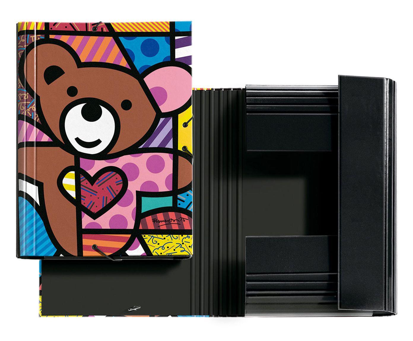 Pasta com Elástico Teddy Bear | Westwing.com.br