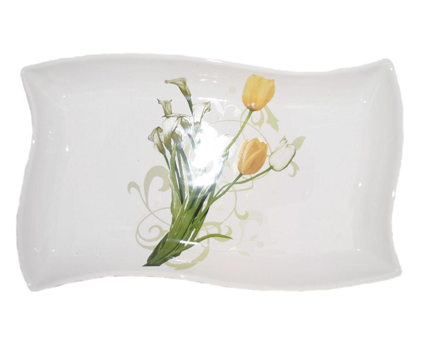 Travessa Little Tulip - 39,5X32cm | Westwing.com.br