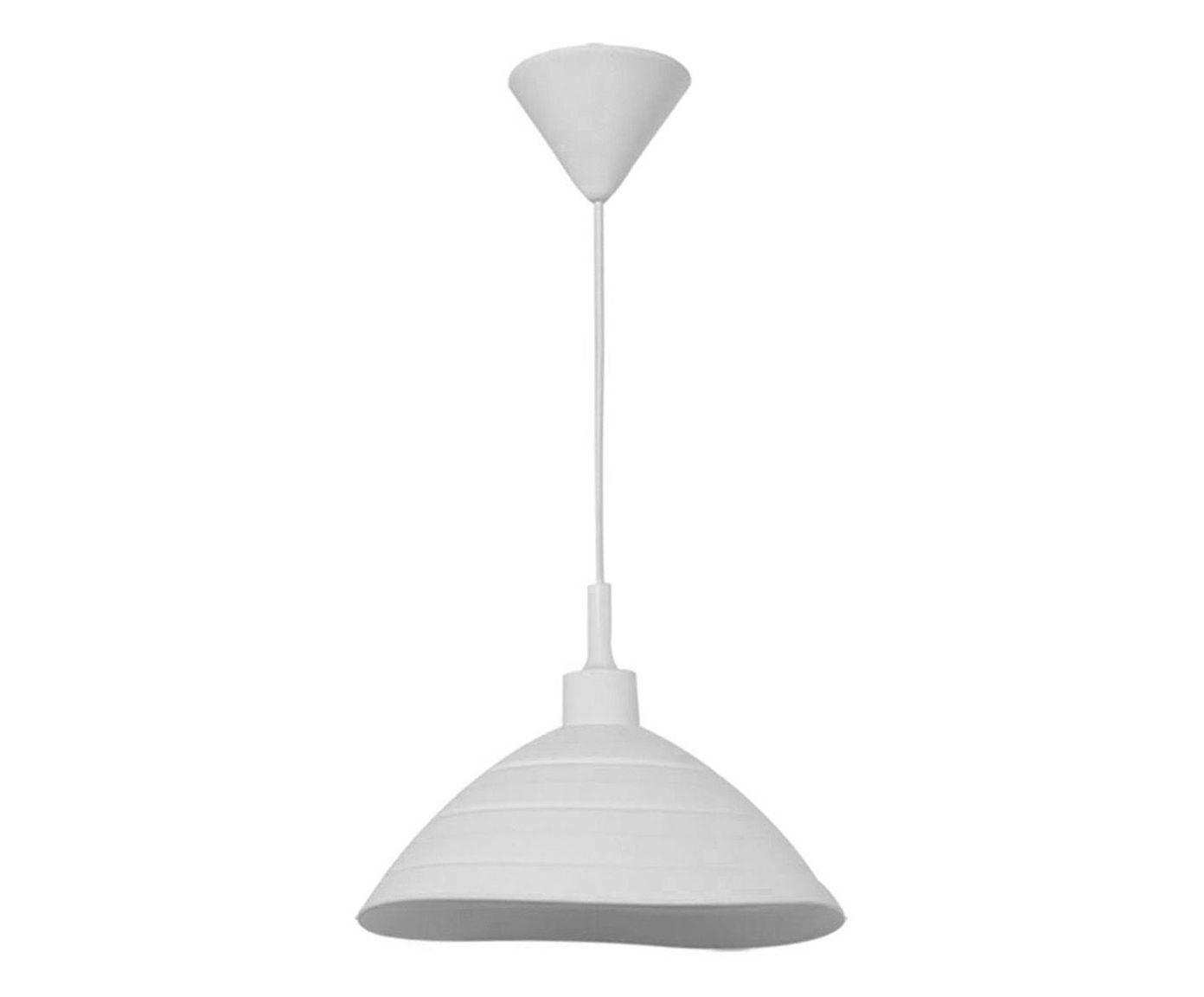 Pendente Round Shape Branco Bivolt - 25cm | Westwing.com.br