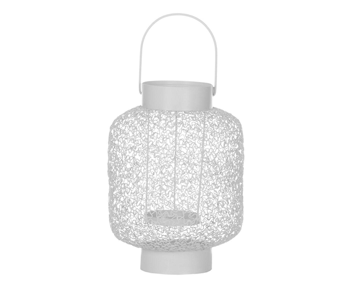 Lanterna Trama - 23,5cm | Westwing.com.br