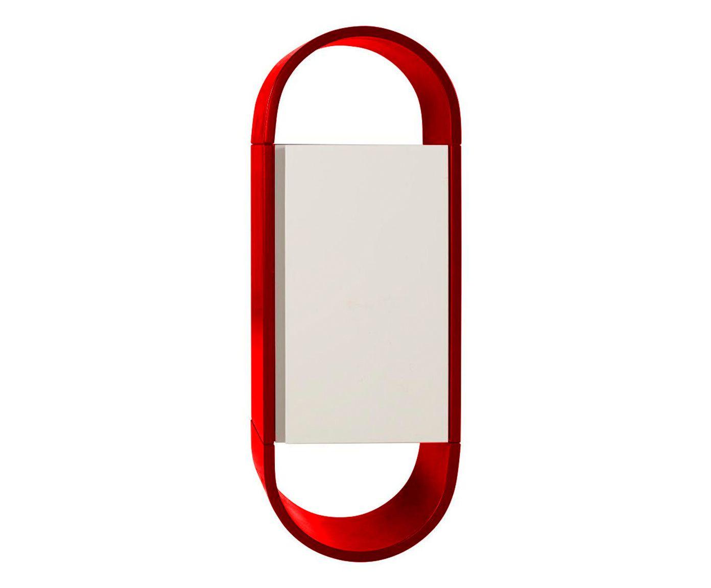 Armário Wish - Vermelho e Branco   Westwing.com.br