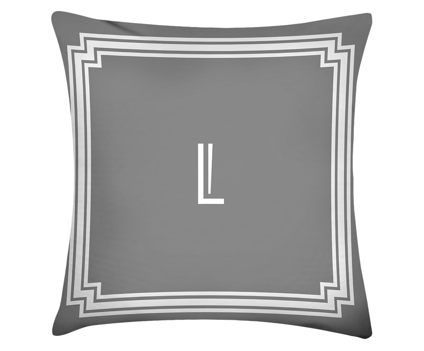 Almofada Letter L - 45x45cm | Westwing.com.br
