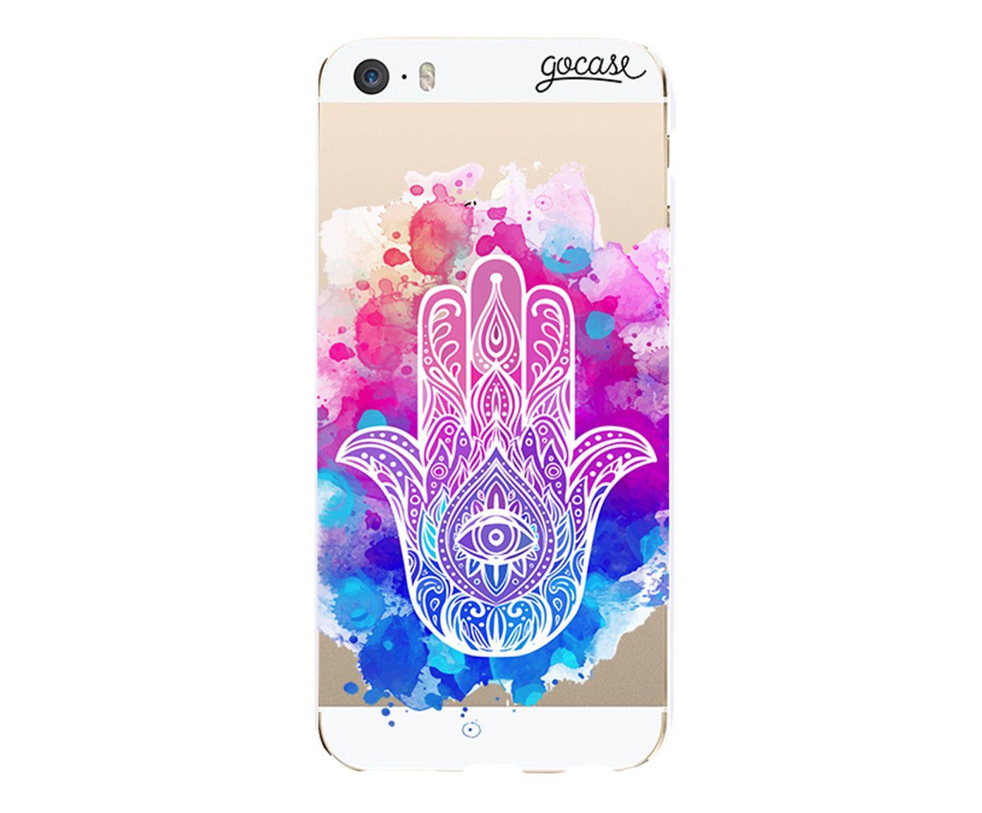 Case Mão de Fátima - Para iPhone 5C | Westwing.com.br