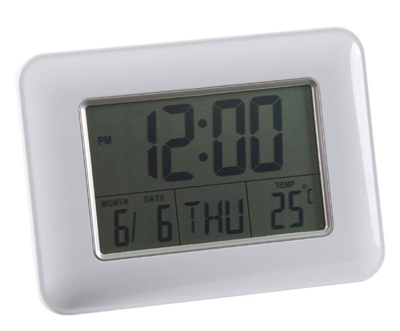 Relógio Despertador Efrat - Prateado | Westwing.com.br