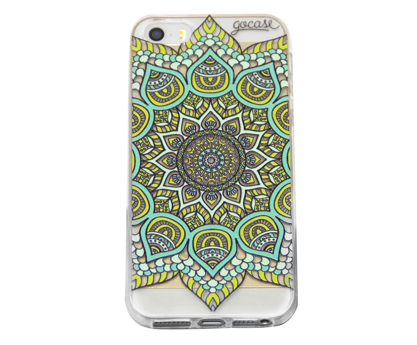Case Green Mandala - Para iPhone 4/4S | Westwing.com.br