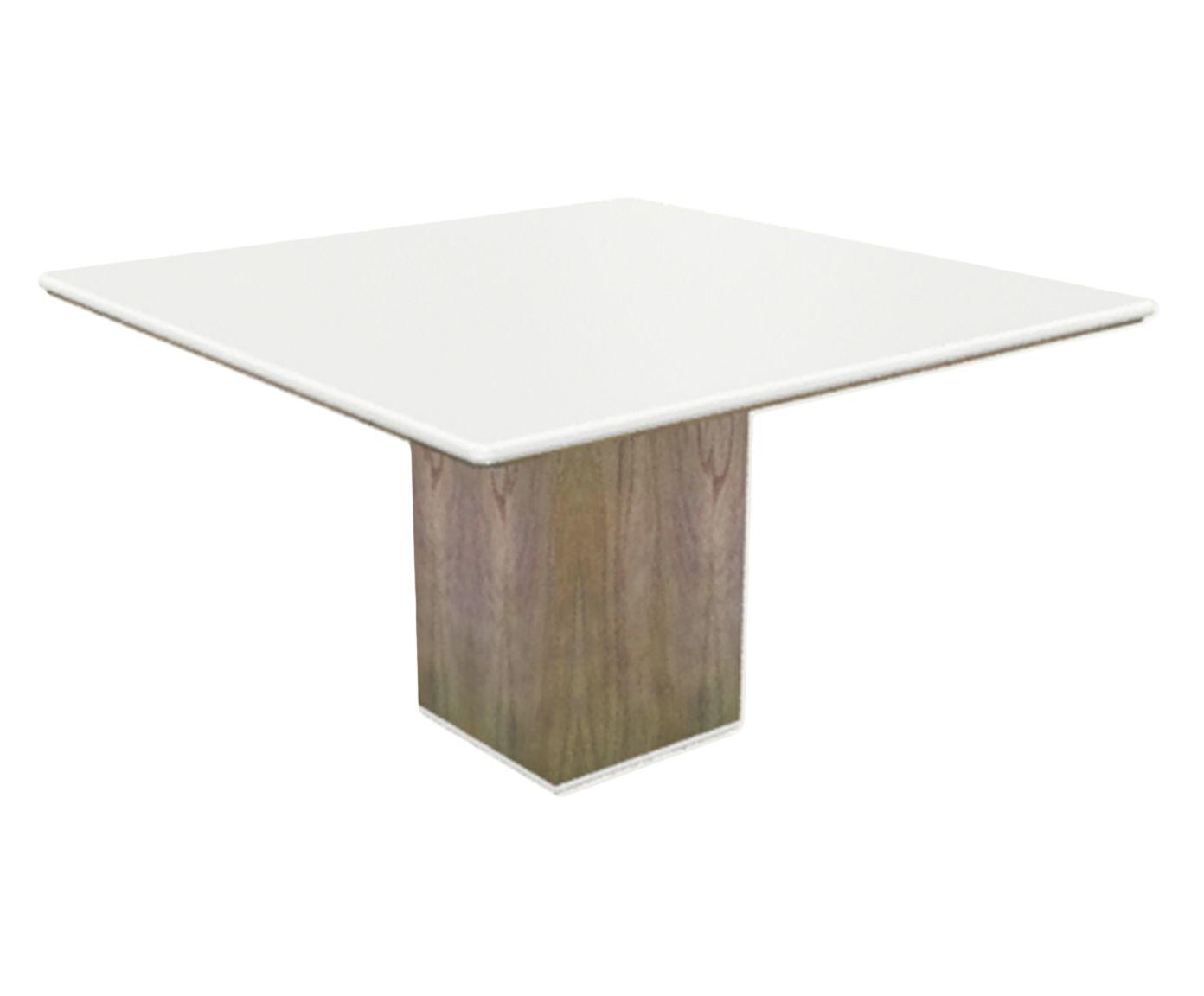 Mesa de Jantar Cananeia Branca - 130x130cm | Westwing.com.br