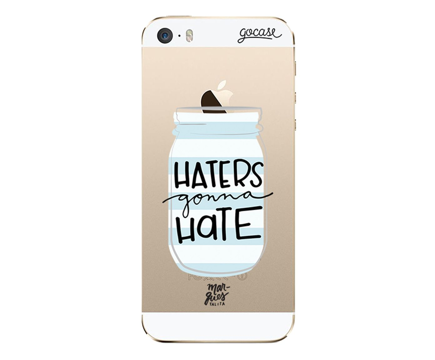 Case Haters Gonna Hate - Para iPhone 5/5S | Westwing.com.br