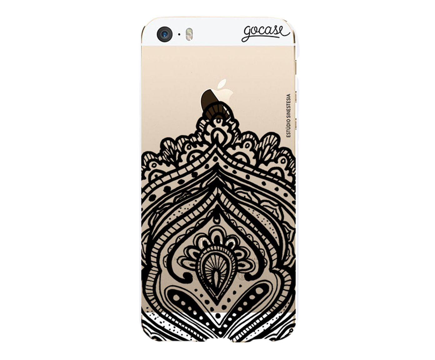 Case Black Tribal - Para iPhone 5C | Westwing.com.br